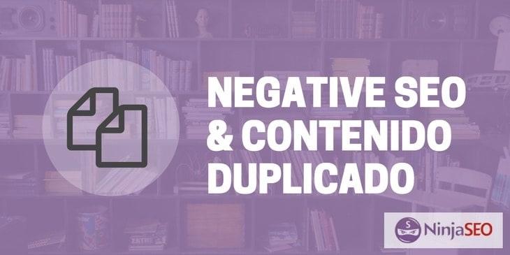 SEO Negativo con Contenido Duplicado