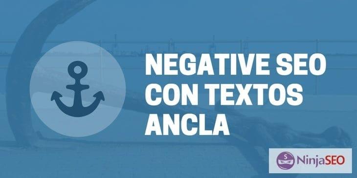 SEO Negativo con Textos Ancla