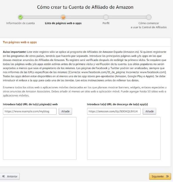 Web para monetizar con amazon afiliados