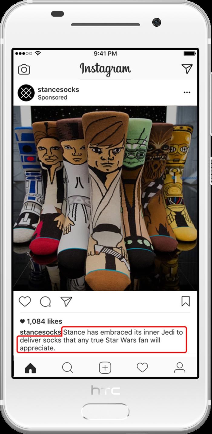 Crea un texto atractivo para Instagram