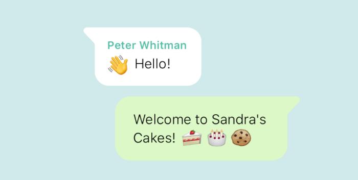 Servicio de chat omnicanal de WhatsApp Business