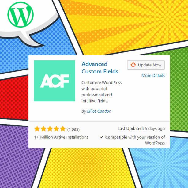 Complemento de campos personalizados avanzados de WordPress