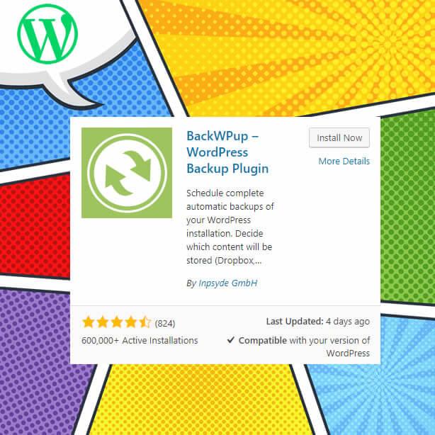 Complemento de WordPress-BackWpup