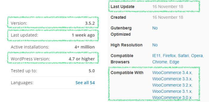 Actualización del complemento de WordPress