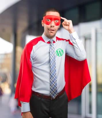 Complemento de superhéroe de WordPress