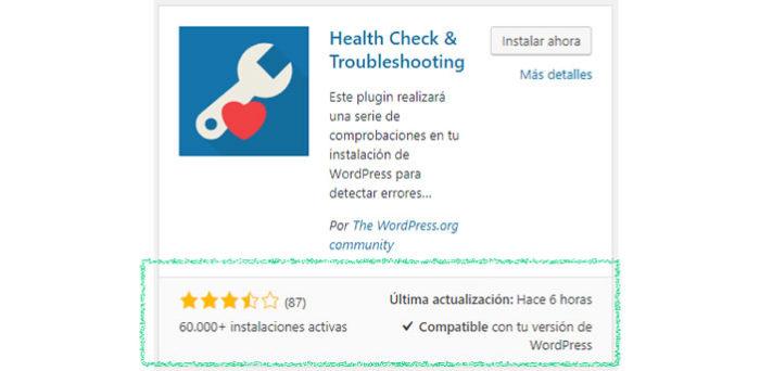 Complemento de vista de WordPress