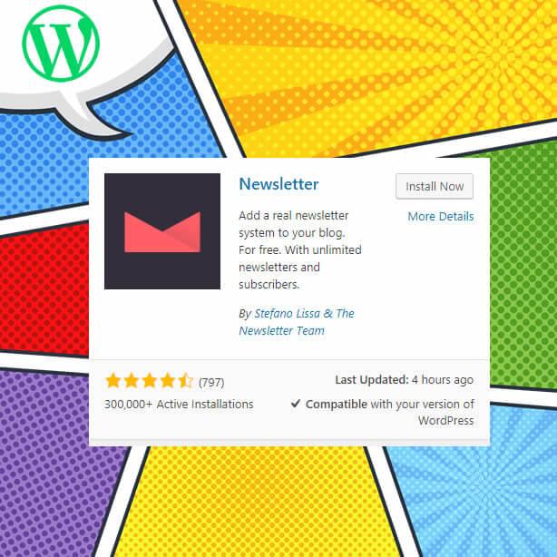 Boletín de noticias del complemento de WordPress
