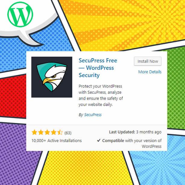 Complemento de WordPress Secupress