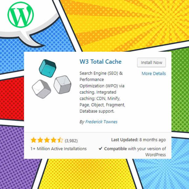 Complemento de caché total de WordPress-W3