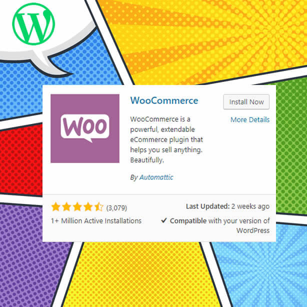 Complemento de WordPress woocommerce