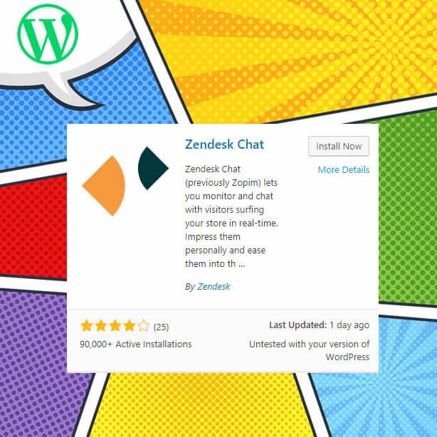 Complemento de chat de WordPress Zendesk