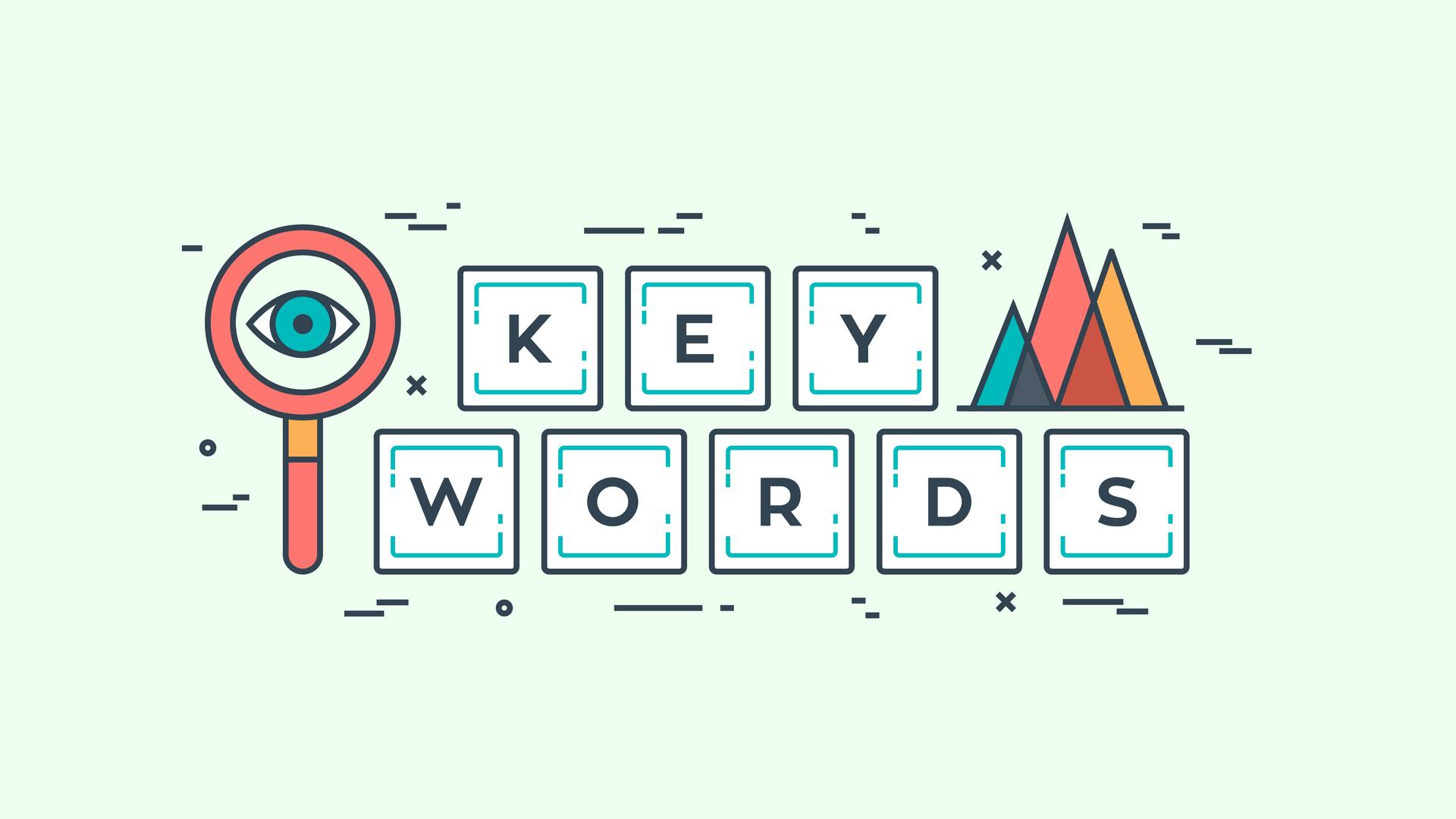 Las 1 palabras clave principales para la optimización de motores de búsqueda de Google