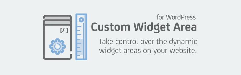 Área de widgets personalizados para WordPress