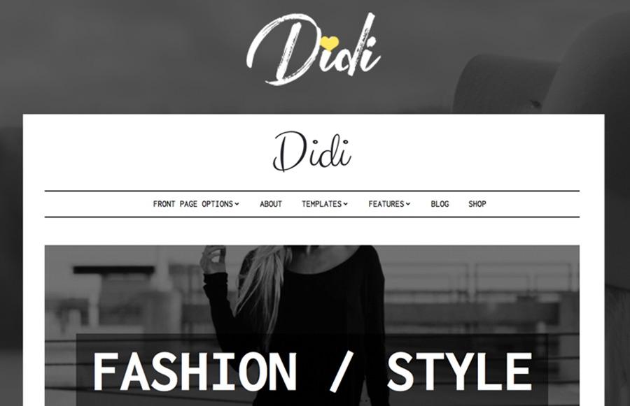 Tema WordPress de Didi Fashion