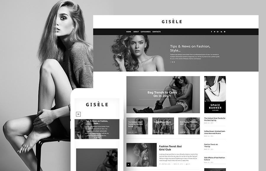 Tema de WordPress Giselle Fashion & Lifestyle