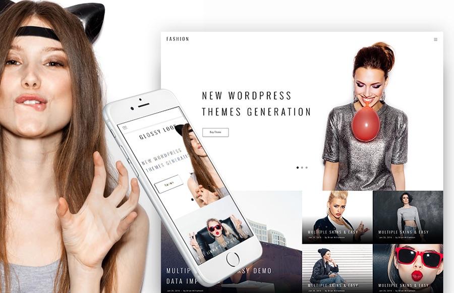 Tema de WordPress para Mariella Fashion Designer