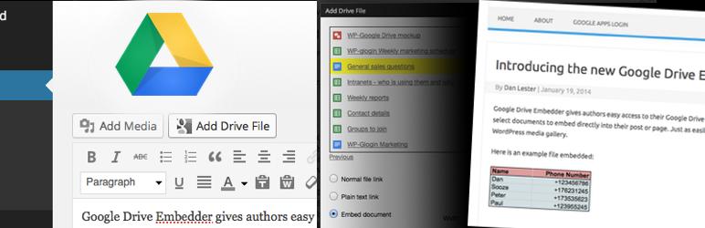 Dispositivo integrado de Google Drive
