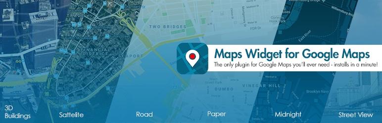 Widget de Google Maps