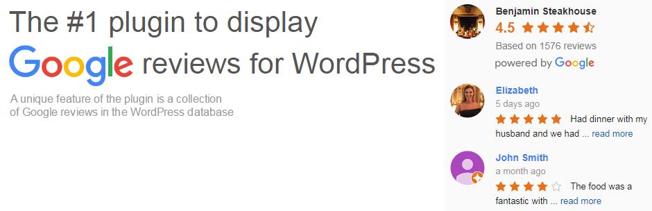 Widget de clasificación de Google