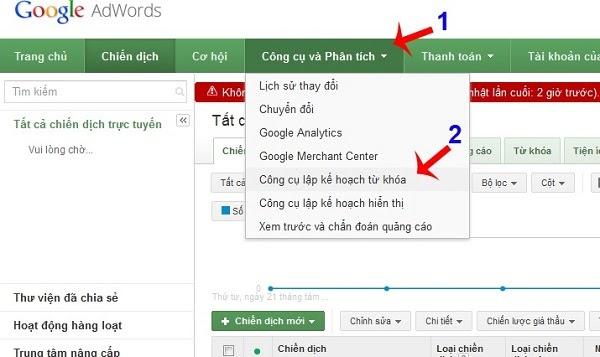 Aprenda a utilizar la herramienta de búsqueda de palabras clave del Planificador de palabras clave de YouTube
