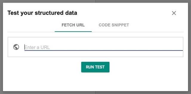La herramienta de prueba de datos estructurados se ha trasladado al dominio Schema.org como motor de prueba de esquema.