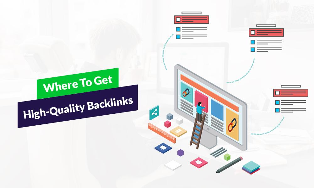 Dónde obtener backlinks de alta calidad