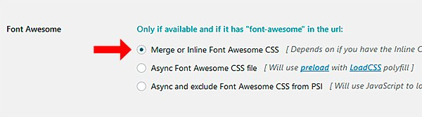 Font Awesome de Fast Velocity Minify
