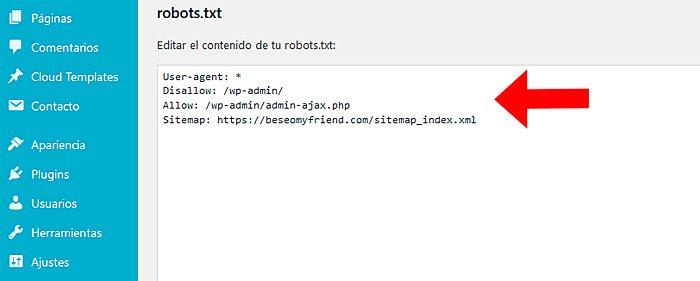 Concurso robot.txt