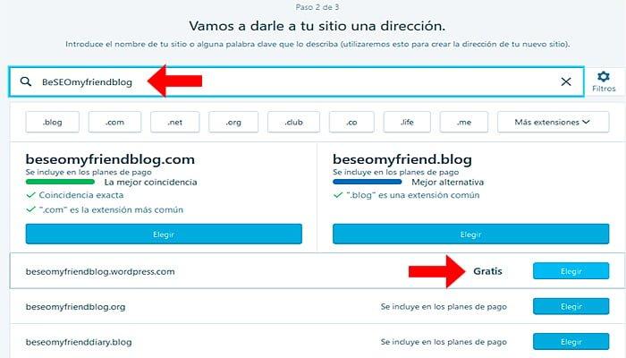 Elige un título de blog